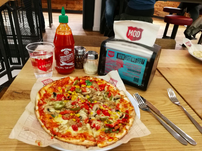 Mod Pizza Comes To Leicester Square Londoncitygirl