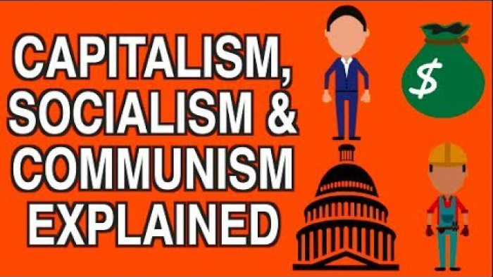 CAPITALISM, SOCIALISM & COMMUNISM EXPLAINED SIMPLY