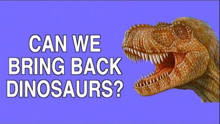 CAN WE BRING BACK THE DINOSAURS?