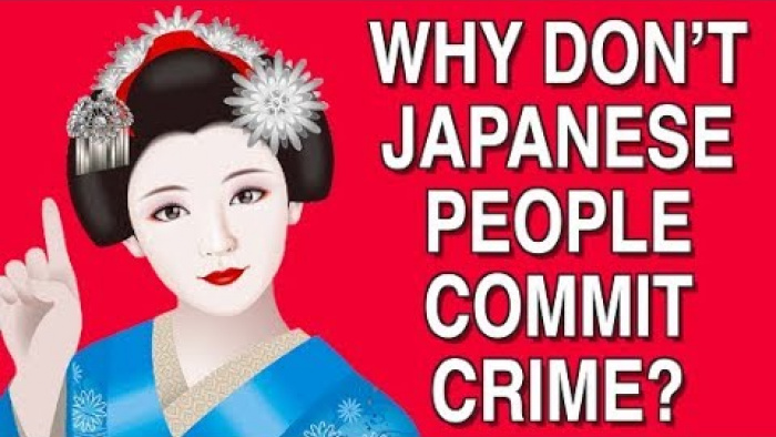 WHY DON'T JAPANESE PEOPLE COMMIT CRIME?