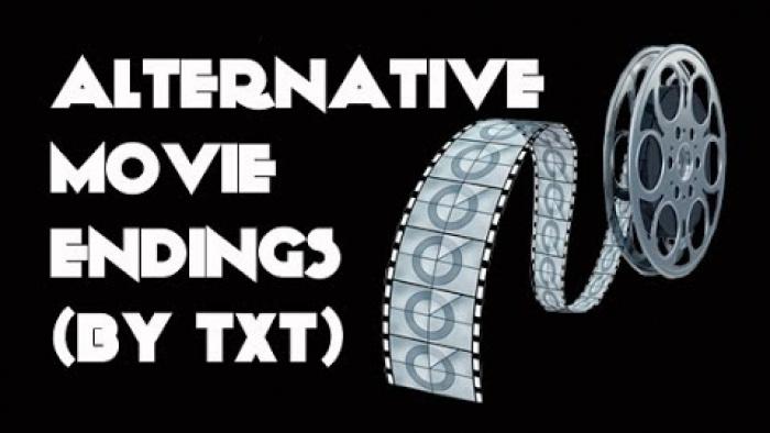 Alternative Movie Endings - using text (Funneee!!)