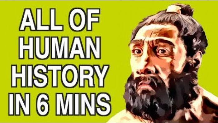 ALL OF HUMAN HISTORY IN 6 MINS
